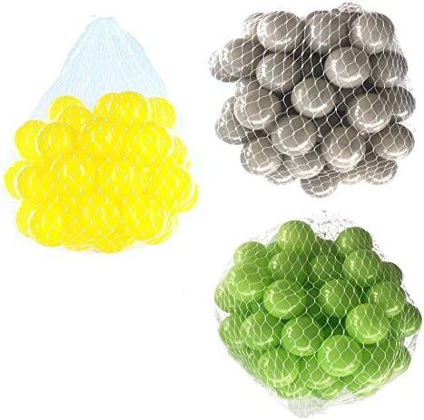 Balles balles pour salle de bain Mix AssortiHommes t t t de Vert, gris et jaune fc0e27