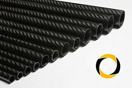 Ascending Composites Carbon Rohr Business 1m Ø 25 mm x 0,5 mm