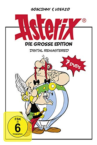 Asterix - Die große Edition (7 Discs, digital remastered)