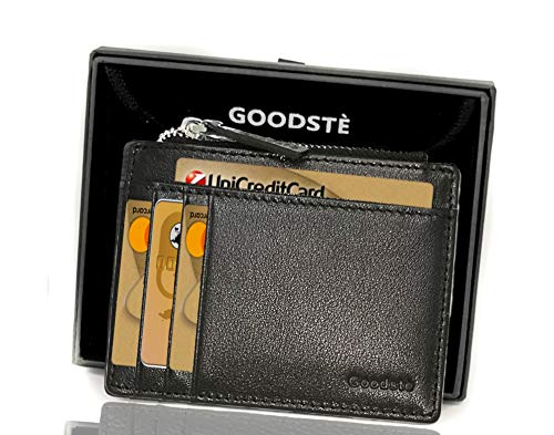 acd2c74e78 Porta Carte Di Credito Portatessere Donna Blocco NFC RFID Protection Mini  Portafoglio Uomo Secrid Portamonete Con ...