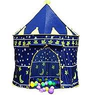 Grande maison pour enfants Pop Up Chateau Assistant de garçons filles Princesse Tente de jeu