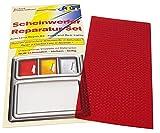 ATG Kit de réparation de phare plaque en PVC Rouge Convient pour phares et feux arrière de voiture, moto ou caravane Aide d'urgence pour vos déplacements Convient également pour le plexiglas et l'acrylique Réparation de phare simple et rapide
