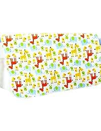 ThreeH Paño de algodón infantil impermeable Estera reutilizable del cojín ...