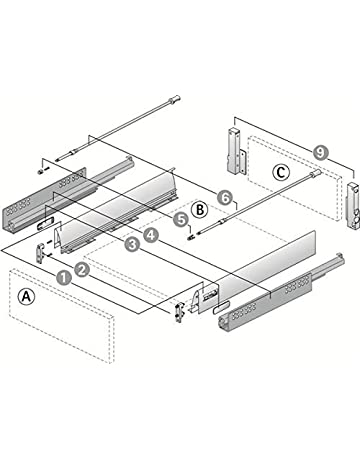 Amazon in: Drawer Slides: Home Improvement