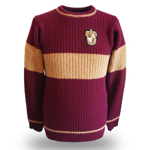 Harry-Potter-Official-Gryffindor-Quidditch-Sweater-Unisex-100-Lambswool