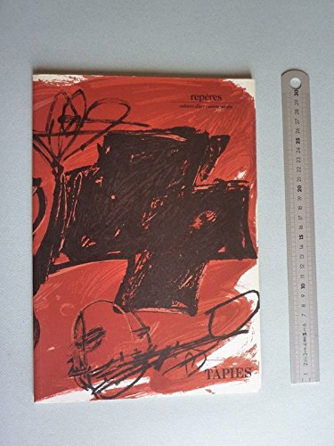 TAPIES. Repères. Cahiers d'art contemporain. N°18 Complet des 3 lithographies originales dont la...
