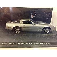 Colección de vehículos 007 James Bond Car Collection Nº 37 Chevrolet Corvette (Panorama Para Matar)