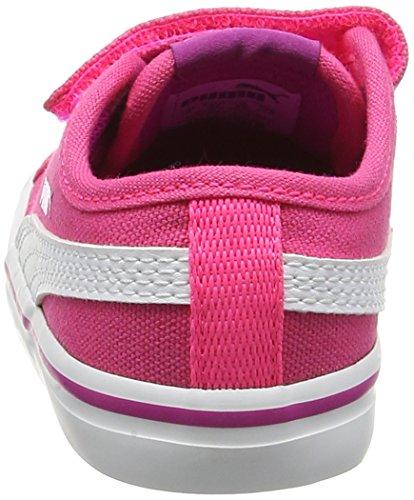 Puma Elsu V2 Cv V Inf, Sneakers Basses mixte enfant Rose (Ultra Magenta-puma White 11)