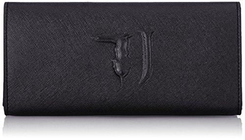 Trussardi Jeans Ischia Portamonete, 22 cm, Nero