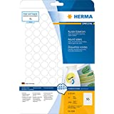 Herma 4386 Étiquettes movables/amovibles diamètre 20 A4 2400 pièces Blanc