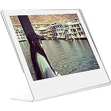 Slant Woodmin acrilico Photo Frame per Fujifilm