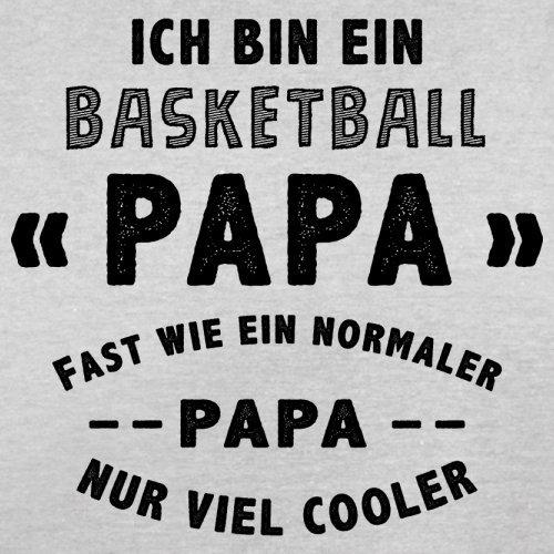 Ich bin ein Basketball Papa - Herren T-Shirt - 13 Farben Hellgrau