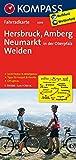 Hersbruck - Amberg - Neumarkt/Oberpfalz - Weiden: Fahrradkarte - GPS-genau - 1:70000 (KOMPASS-Fahrradkarten Deutschland, Band 3099) -