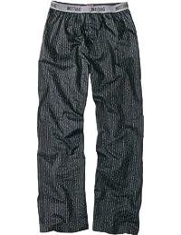 Mustang - Bas de pyjama - Homme Graphit schwarz