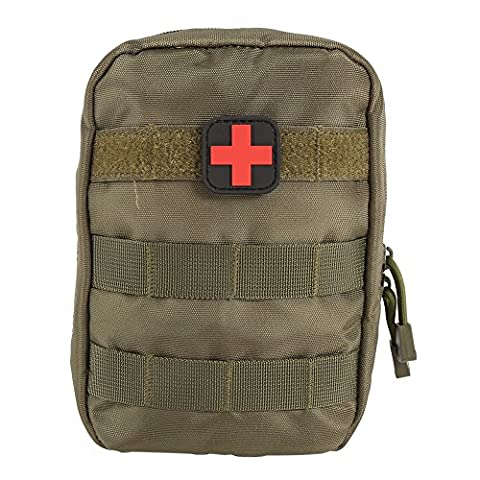 Shiningup Erste Hilfe Tasche Molle Medizinische Abdeckung Outdoor Notfall Militär Programm Paket Outdoor Reise Jagd Utility Pouch