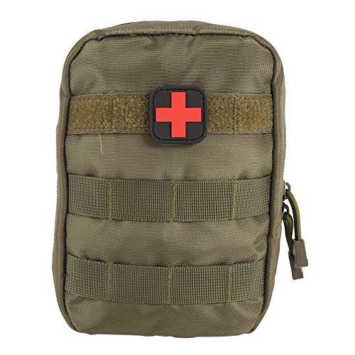 Shiningup Erste Hilfe Tasche Molle Medizinische Abdeckung Outdoor Notfall Militär Programm Paket Outdoor Reise Jagd Utility Pouch (Erste-hilfe-kits Emt)