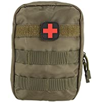 Zdmathe Molle Taktische Erste Hilfe Kit Tasche First Aid Pouch Set Tactical Medizinische Notfalltasche für Outdoor Camping Sport Reisen