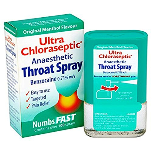 Ultra Spray Gorge Chloraseptic originale - 15ml