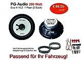 PG Audio Nissan Juke, Micra K12, Micra K13, Lautsprecher Einbauset Vorne