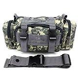 HuntGold Fahrrad Jagd Camping 3P Swat Molle Dienstprogramm Pack Gürteltasche Handtasche / Strap(camouflage )