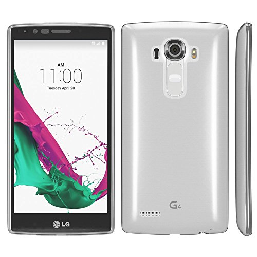 LG G3 S Hülle, EAZY CASE Premium Flip Case Handyhülle - Schutzhülle zum Aufklappen in Schwarz Transparent