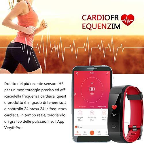 Zoom IMG-3 yamay orologio fitness tracker cardiofrequenzimetro