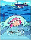 Ponyo sur la Falaise Affiche Cinéma Originale Petit Format (53x40 cm Roulée) Hayao Miyazaki