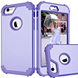 iPhone 6S Case, iPhone 6 Case, Asstar Three Layer Soft Silicone Hard Back
