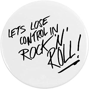 Badge rock avec inscription - Azeeda