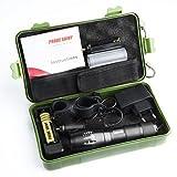 Moonuy 5000 Lumens Tactical LED CREE XM-L T6 Lampe de poche de police X800 Zoom Super...