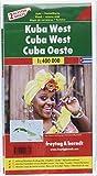 Kuba West und Ost, Autokarten Set 1:400.000 (freytag & berndt Auto + Freizeitkarten) - Freytag-Berndt und Artaria KG