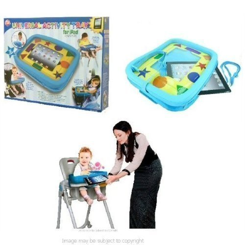 Children Babies Activity Tray for Apple iPad fits Car Seat Highchair & Stroller (sku 18707) 51T7m 2BpDXsL