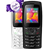 I KALL K6610 Dual Sim 1.8 Inch Display COMBO OF TWO Basic Feature Mobile Phone With Bluetooth, FM, Flash Light, GPRS, 1000 MAh Battery And 1 Year Warranty- Black & White