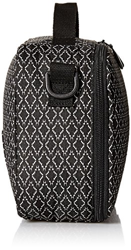 Volcom Brown Bag Lunch Box - Borse a spalla Donna, Schwarz (Black Combo), 8x19x26 cm (B x H T) Nero (Black Combo)