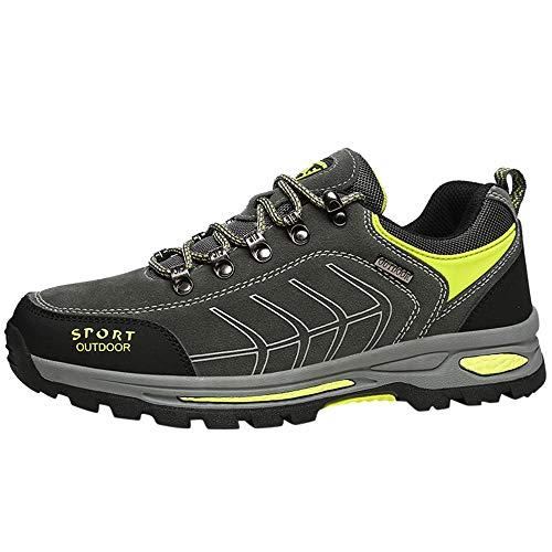 Meilleure Vente!LuckyGirls Bottes de randonnée Hommes Hiver Bottes de Neige Larges Chaussures de Cheville mi-Longs résistant à l'eau en Plein air 39-45