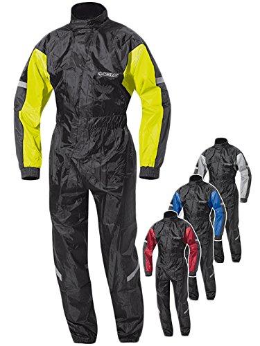 Held Splash Regenkombi, Farbe schwarz-Neongelb, Größe 2XL