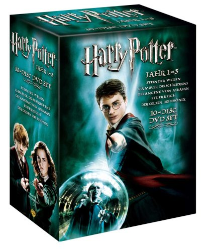 Harry Potter 1-5 (Special Edition) (10 DVDs)