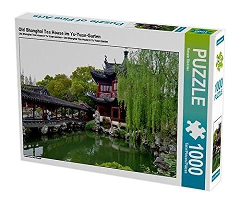 Old Shanghai Tea House im Yu-Yuan-Garten 1000 Teile Puzzle quer: