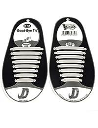 Tininna 16 pz no cravatta lacci pratica Lazy Tieless silicone sneaker lacci  elastici Athletic scarpa lacci per bambini a24720f2e44