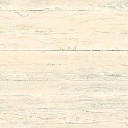 """BHF fd22324""""regenerado blanco lavado cobertizo (madera, tableros amarillo"""" papel pintado-Miel"""