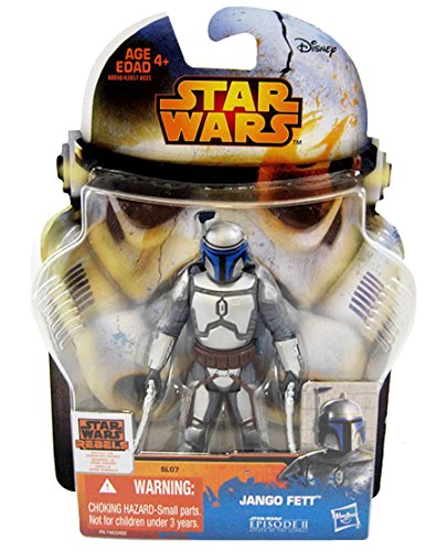 Jango Fett SL07 Star Wars Episode II Attack of the Clones - Saga Legends 2015 von Hasbro / (Star Wars Fett Jango)