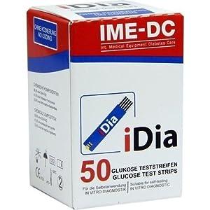 Ime Dc iDia Blutzuckerteststreifen 50 stk