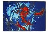 Spiderman - Spider-Man - Action - Spielteppich - Kinder Teppich - Kinderteppich - Teppich - Läufer - darf in keinem Kinderzimmer fehlen 95 x 133 cm