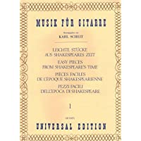 LEICHTE STUECKE AUS SHAKESPEARES ZEIT BAND 1 : FUER GITARRE - Noten/sheet music