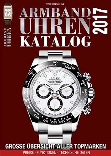 Preisvergleich Produktbild Armbanduhren Katalog 2017