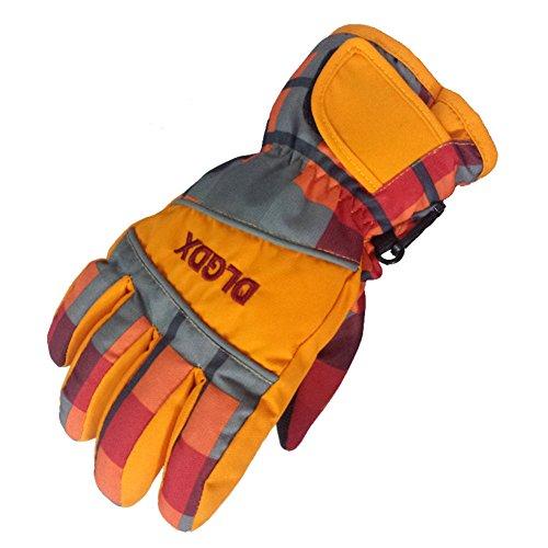 gants de ski pour enfants/Gants hiver étanches pour l'extérieur pour hommes et femmes/ gants A