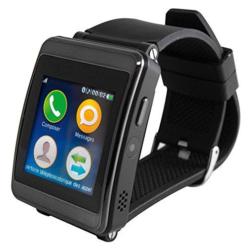 128mb 64mb Flash (Smartwatch Bluetooth Inovalley MC103,9cm (1,54Zoll))