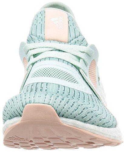 adidas Pureboost X, Chaussures de Running Femme, Violet Multicolore (Menhie / Acevap / Rosvap)