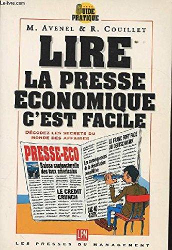 Lire la presse économique au quotidien : Tests, exercices, quiz par Marie Avenel