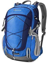 2665618d55 MOUNTAINTOP 40 Litri Zaino Trekking Sportivo Outdoor Donna e Uomo  Impermeabile per Campeggio Alpinismo Arrampicata Viaggio